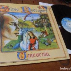 Discos de vinilo: SILVIO RODRIGUEZ -LP-UNICORNIO - MADE IN SPAIN 1986. Lote 73803347