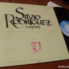 Discos de vinilo: SILVIO RODRIGUEZ -LP-MUJERES - MADE IN SPAIN 1989. Lote 234304470