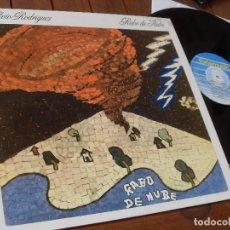 Discos de vinilo: SILVIO RODRIGUEZ -LP-RABO DE NUBE - MADE IN SPAIN 1990. Lote 73803401