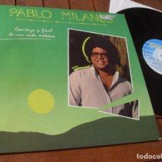 Discos de vinilo: PABLO MILANES -LP- COMIENZO Y FINAL DE UNA VERDE MAÑANA- MADE IN SPAIN 1985. Lote 71795475