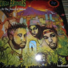 Discos de vinilo: JUNGLE BROTHERS - DONE BY THE FORCES OF NATURE LP ORIGINAL ALEMAN ETERNAL 1989 FUNDA INT ORIGINAL. Lote 71797583