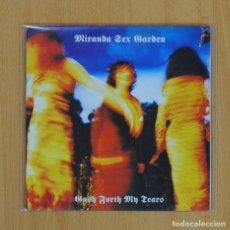 Discos de vinilo: MIRANDA SEX GARDEN - GUSH FORTH MY TEARS - SINGLE. Lote 71798743