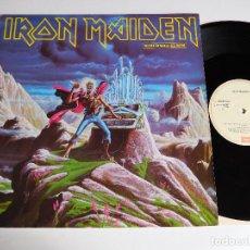 Discos de vinilo: IRON MAIDEN. MAXI SINGLE. RUN TO THE HILLS LIVE 85. EDICIÓN ESPAÑOLA. Lote 71806123