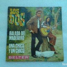 Dischi in vinile: LOS DOS - BALADA DEL MADERERO SINGLE 1970. Lote 71809499