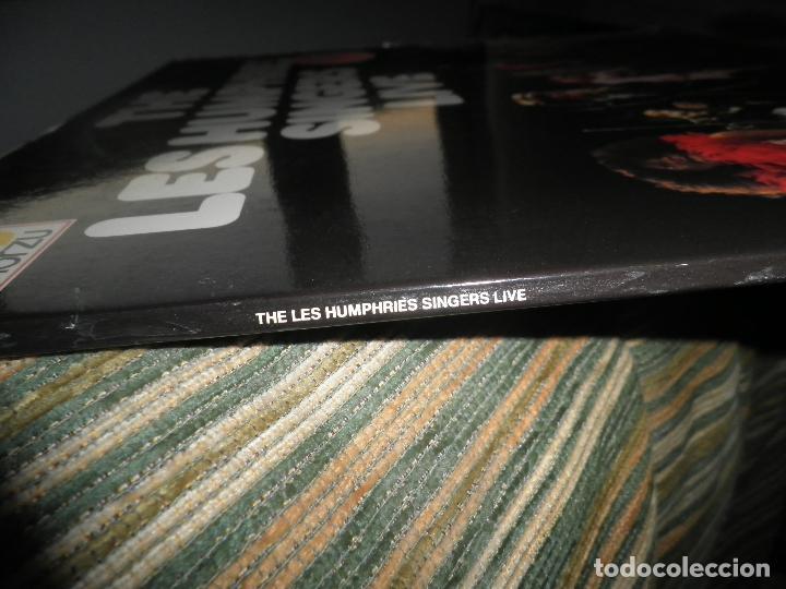 Discos de vinilo: THE LES HUMPHRIES SINGERS - LIVE DOBLE LP - ORIGINAL ALEMAN - DECCA RECORDS 1975 GATEFOLD COVER - - Foto 6 - 71818015