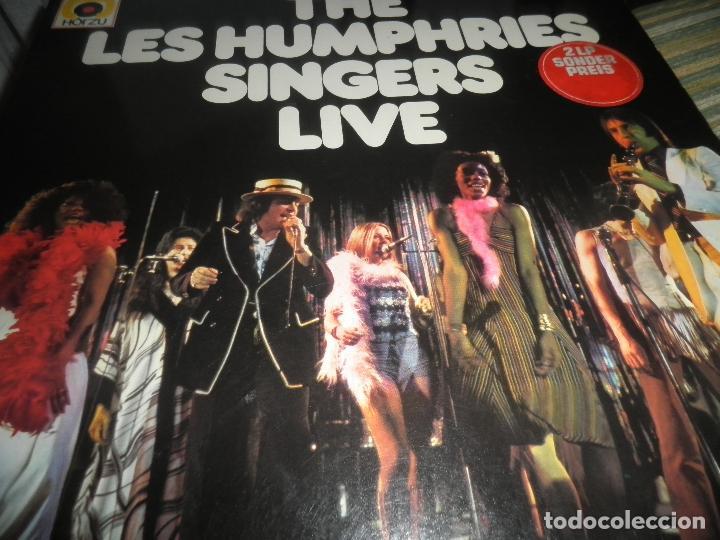 Discos de vinilo: THE LES HUMPHRIES SINGERS - LIVE DOBLE LP - ORIGINAL ALEMAN - DECCA RECORDS 1975 GATEFOLD COVER - - Foto 9 - 71818015