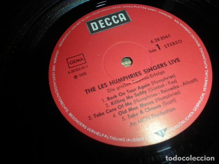 Discos de vinilo: THE LES HUMPHRIES SINGERS - LIVE DOBLE LP - ORIGINAL ALEMAN - DECCA RECORDS 1975 GATEFOLD COVER - - Foto 14 - 71818015