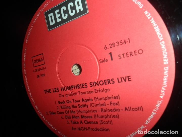 Discos de vinilo: THE LES HUMPHRIES SINGERS - LIVE DOBLE LP - ORIGINAL ALEMAN - DECCA RECORDS 1975 GATEFOLD COVER - - Foto 15 - 71818015