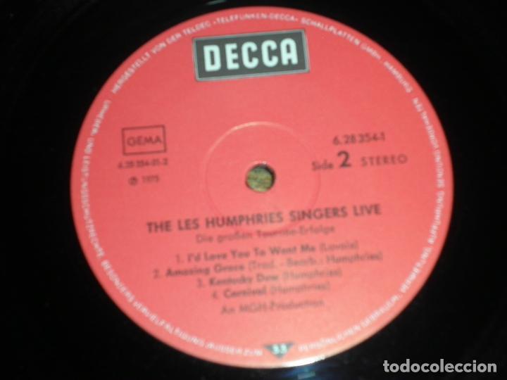 Discos de vinilo: THE LES HUMPHRIES SINGERS - LIVE DOBLE LP - ORIGINAL ALEMAN - DECCA RECORDS 1975 GATEFOLD COVER - - Foto 17 - 71818015