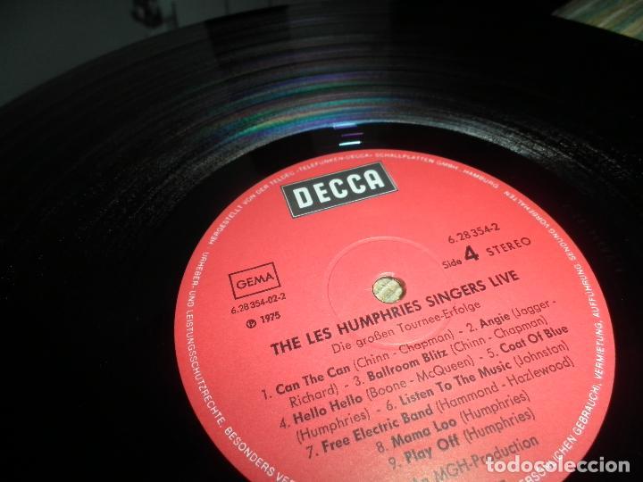 Discos de vinilo: THE LES HUMPHRIES SINGERS - LIVE DOBLE LP - ORIGINAL ALEMAN - DECCA RECORDS 1975 GATEFOLD COVER - - Foto 23 - 71818015