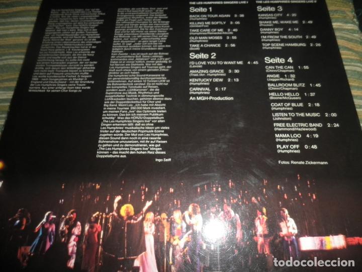 Discos de vinilo: THE LES HUMPHRIES SINGERS - LIVE DOBLE LP - ORIGINAL ALEMAN - DECCA RECORDS 1975 GATEFOLD COVER - - Foto 24 - 71818015