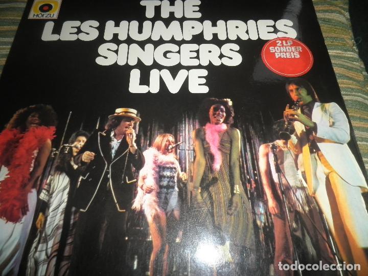 Discos de vinilo: THE LES HUMPHRIES SINGERS - LIVE DOBLE LP - ORIGINAL ALEMAN - DECCA RECORDS 1975 GATEFOLD COVER - - Foto 25 - 71818015