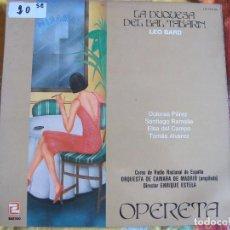 Discos de vinilo: LP - LEO BARD - LA DUQUESA DEL BAL TABARIN (SPAIN, DISCOS ZAFIRO 1985). Lote 71826443