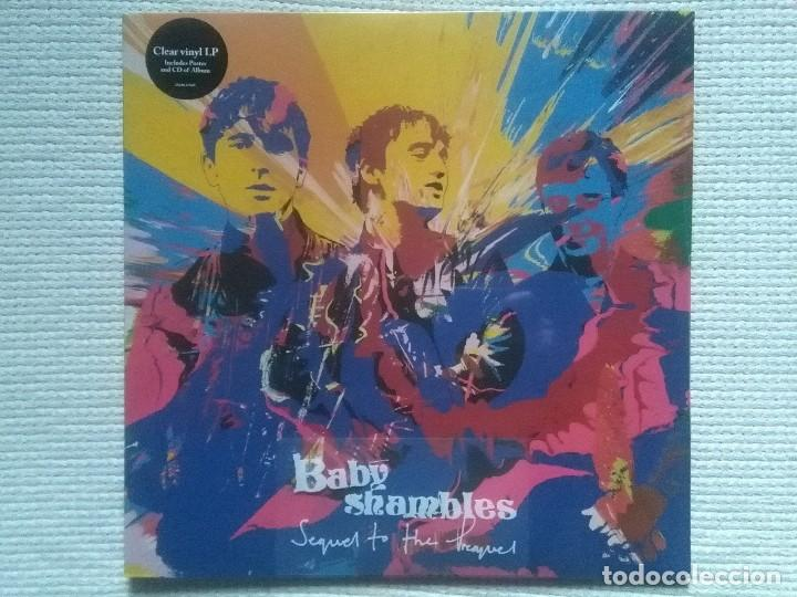 BABYSHAMBLES - '' SEQUEL TO THE PREQUEL '' LP + CD CLEAR VINYL 2013 EU (Música - Discos - LP Vinilo - Pop - Rock Extranjero de los 90 a la actualidad)
