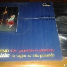 Discos de vinilo: ALEGRES NAVIDADES 8: PASTORES VENID/DE PUERTA A PUERTA/CAMPANAS DE BELEN+9 (VER FOTO)(LP.12
