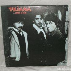Discos de vinilo: TRIANA - LLEGÓ EL DÍA. EDICIÓN VENEZUELA (DISCOSA 1983). Lote 71857691