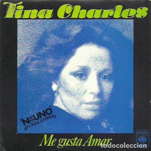 TINA CHARLES. SINGLE . SELLO CBS. EDITADO EN ESPAÑA. AÑO 1976 (Música - Discos - Singles Vinilo - Pop - Rock - Extranjero de los 70)