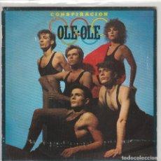 Disques de vinyle: OLE OLE / CONSPIRACION / EL RITMO DEL ESCANDALO (SINGLE 1983). Lote 71909263