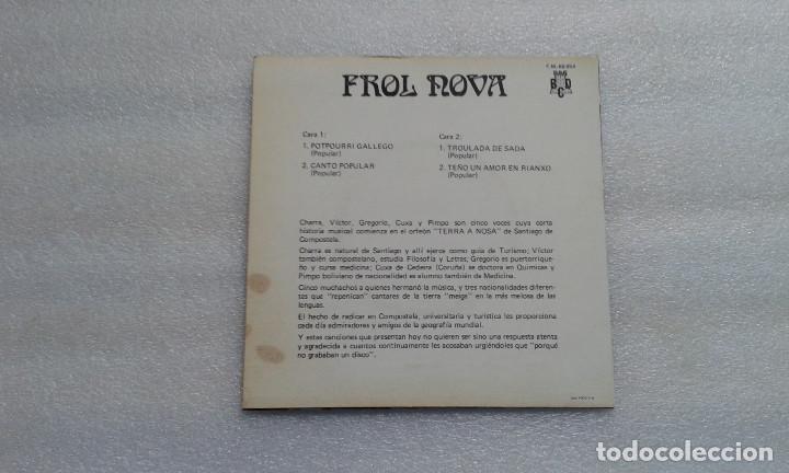 Discos de vinilo: FROL NOVA - POTPOURRI EP 1971 4 TEMAS - Foto 3 - 71919627