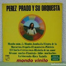Discos de vinilo: PEREZ PRADO Y SU ORQUESTA. ZAFIRO 1971. LP. Lote 71929955