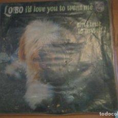 Discos de vinilo: LOBO. Lote 71936359