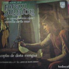Discos de vinilo: PATXI ANDION. Lote 71940847
