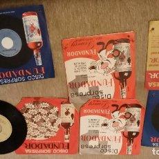 Discos de vinilo: LOTE 7 DISCOS SORPRESA FUNDADOR. Lote 71964539