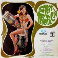 Discos de vinilo: VVAA - SABOR TROPICAL - LP SPAIN 1967 - SEECO / DISCOPHON S.C. 2.012. Lote 71968619