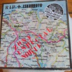 Discos de vinilo: RIP + ESCORBUTO ( ZONA ESPECIAL NORTE ). Lote 71987491