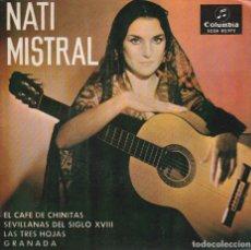 Discos de vinilo: NATI MISTRAL / SEVILLANAS DEL SIGLO XVIII + 3 (EP 1965). Lote 72014535