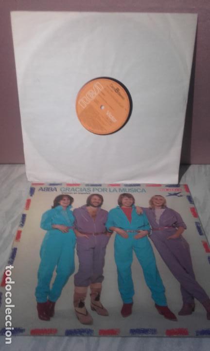 Discos de vinilo: VINILO ABBA - GRACIAS POR LA MUSICA - DEDICADO POR LOS COMPONENTES DEL GRUPO - Foto 4 - 72018759