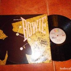 Discos de vinilo: DAVID BOWIE BAILEMOS - LET´S DANCE / CAT PEOPLE MAXI SINGLE VINILO AÑO 1983 ESPAÑA CONTIENE 2 TEMAS. Lote 72021705