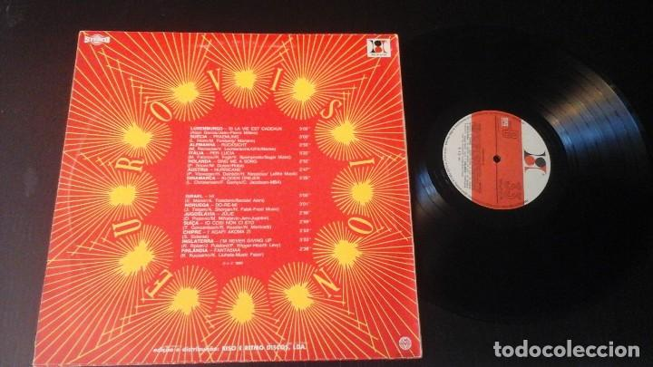 Discos de vinilo: Eurovisión 83 LP Riso e Ritmo Discos RR LP 2176 Editado en Portugal - Foto 2 - 72023455