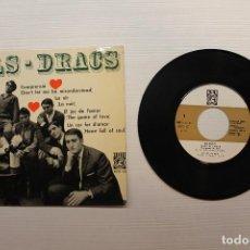Discos de vinilo: SINGLE, ELS DRACS, COMPRENSIÓ. Lote 72023595