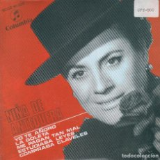 Discos de vinilo: NIÑA DE ANTEQUERA / YO TE AÑORO + 3 (EP PROMO 1968). Lote 72023739