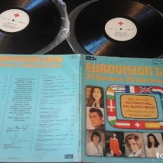 Discos de vinilo: EUROVISION GALA - 29 WINNERS - 29 WORLDSUCCESSES LABEL: RED CROSS/POLYGRAM 2675 221 PORTUGAL. Lote 72024251