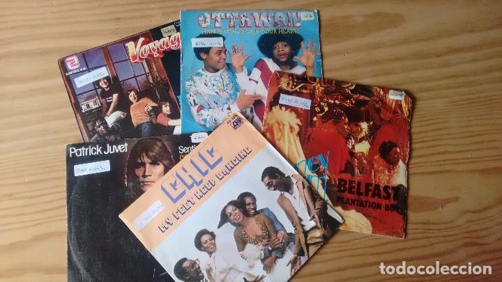 LOTE DE 5 SINGLES DE DISCO MUSIC AÑOS 70 (Música - Discos de Vinilo - Maxi Singles - Disco y Dance)