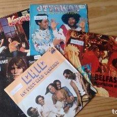 Discos de vinilo: LOTE DE 5 SINGLES DE DISCO MUSIC AÑOS 70. Lote 72026587