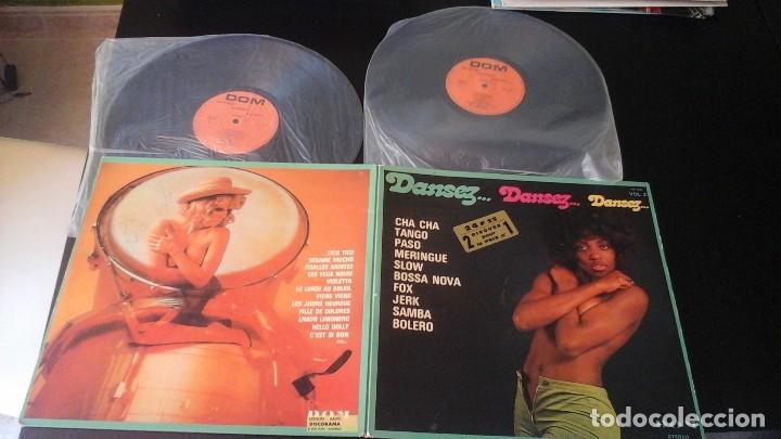 DANSEZ... DANSEZ... DANSEZ LP DOM DA 2404 CHA CHA TANTO PASO MERENTE BOSSA SAMBA BOLERO..... (Música - Discos de Vinilo - EPs - Grupos y Solistas de latinoamérica)