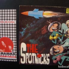 Discos de vinilo: THE SPOTNICKS- THE SPOTNICKS EP SUECO, VINILO AZUL. Lote 72028011