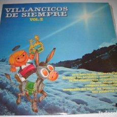 Discos de vinilo: LP DISCO VINILO VILLANCICOS DE SIEMPRE VOLUMEN 2 1976. Lote 72043983