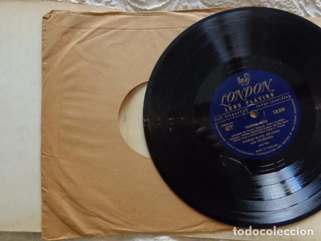 STANLEY BLACK, HIS PIANO AND ORCHESTRA - TROPICAL MAGIC - LB 510 - UK FFRR MONO 1951 RECORD (Música - Discos de Vinilo - EPs - Orquestas)