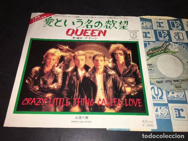 QUEEN ( CRAZY LITTLE THING CALLED LOVE / SPREAD YOUR WINGS) SINGLE JAPAN P-529E (EPI4), usado segunda mano