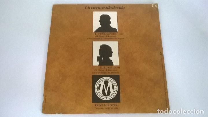 Discos de vinilo: Juan Barcons Y Orquesta - Prime Minister (Un cierto estilo de vida) .Curioso Ep . Belter 1976 . - Foto 3 - 72056159