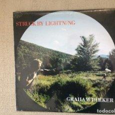 Discos de vinilo: GRAHAM PARKER -STRUCK BY LIGHTNING- (1991) LP DISCO VINILO. Lote 72067839