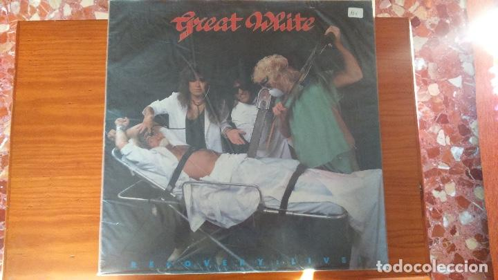 GREAT WHITE. RECOVERY LIVE (Música - Discos - LP Vinilo - Heavy - Metal)