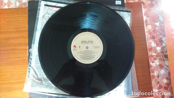Discos de vinilo: Great White. Recovery Live - Foto 6 - 72072027