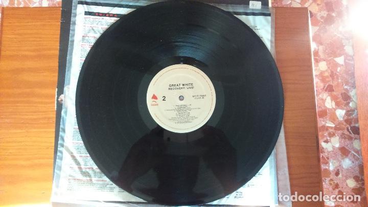 Discos de vinilo: Great White. Recovery Live - Foto 7 - 72072027