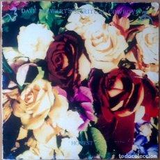 Discos de vinilo: DAVE STEWART & THE SPIRITUAL COWBOYS : HONEST [ESP 1991] LP. Lote 72074935