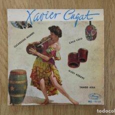 Discos de vinilo: EP MERCURY 1959 XAVIER CUGAT CUCARACHA MAMBO OJOS VERDES PEREZ PRADO TITO PUENTE AL CAIOLA BILLY MAY. Lote 72100631